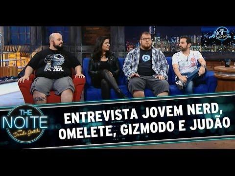 Nerd - Na primeira parte do The Noite especial Dia do Nerd, Danilo Gentili entrevista Deive Pazos (Jovem Nerd), Erico Borgo (Omelete), Nadiajda Ferreira (Gizmodo) e...