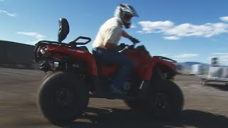 7. Can Am Outlander 570 Review