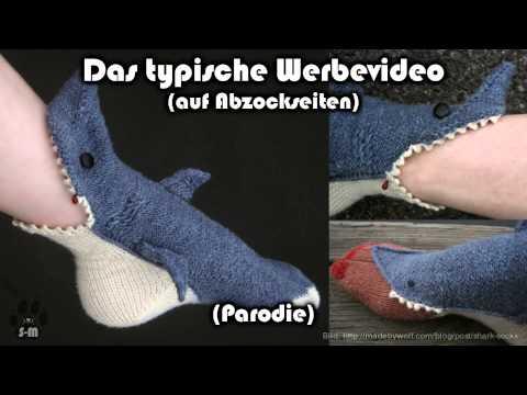 Werbeparodie – Socken-Trading