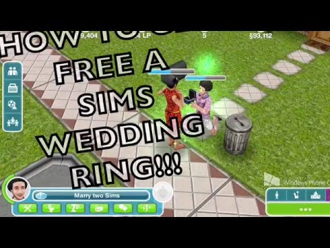 How to get a Free 10LP Wedding  ring on sims freeplay