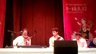 Celebrating Indian In Israel - Dr L Subramaniam Peforming In Jerusalem