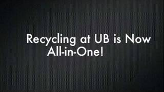 Zero Waster program explains how recycling at UB is all in one