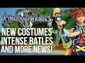 Kingdom Hearts 3 BIG NEWS! - New Costumes, Intense Battles and More!