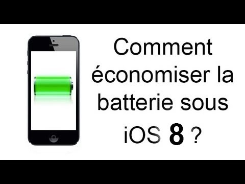comment economiser batterie iphone ios 6