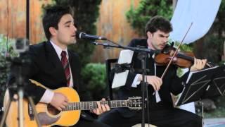 image of Tato Moraes - Pra sonhar (Voz, violão e violino) - Música para casamento em BH e região