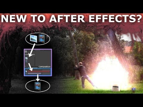 After Effects - New to After Effects? This tutorial is ALL you need to get you started creating awesome VFX for your movie projects! I take you through creating a cool explo...