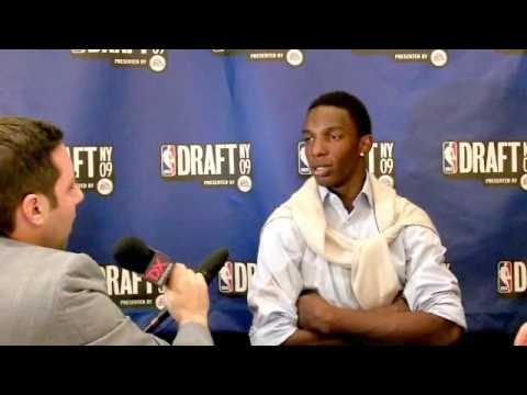 Hasheem Thabeet - 2009 NBA Draft Media Day Interview