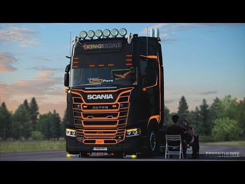 Scania R-S Addons v5.5 1.37