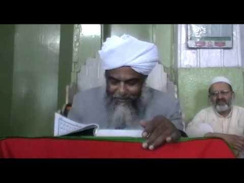 Dars e Quran By Dr Hafiz Shaikh Ahmed Mohiuddin Sharfi Sahab 31st March 2013