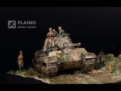 King tiger tank model