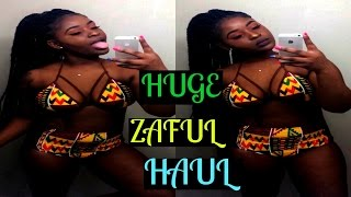 Video AFRICAN SLIM THICK SWIMWEAR  TRY ON HAUL! ZAFUL REVIEW MP3, 3GP, MP4, WEBM, AVI, FLV Desember 2018