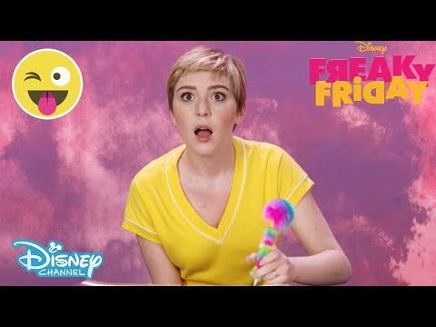 Freaky Friday   Get To Know Cozi From Freaky Friday 💅   Disney Channel UK