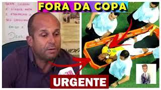 O vidente Carlinhos não para, e ele preveu um acidente grave para Neymar antes da Copa de 2018, onde o jogador ficará fora...