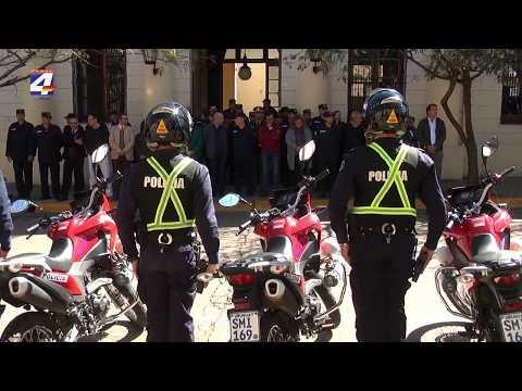Presentaron Brigada Departamental de Tránsito en Jefatura de Policía