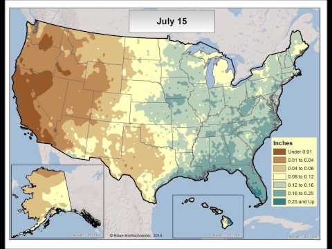 U.S. Normal Daily Precipitation