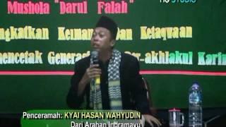 Kyai HASAN WAHYUDIN (Ustadz Fenomenal dari Indramayu)