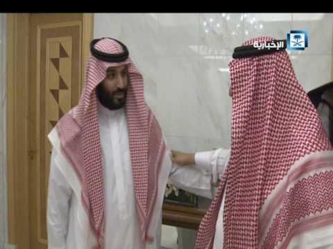#فيديو :::  الأمير #محمد_بن_نايف يبايع الأمير #محمد_بن_سلمان_وليا_للعهد