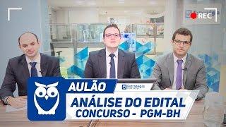 O Estratégia Concursos irá trazer no dia 25 de Outubro, às 20h30, a Análise do Edital para o concurso PGM-BH com o professor Paulo Guimarães e Thiago ...