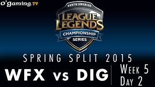 LCS NA Spring 2015 - W5D2 - WFX vs DIG