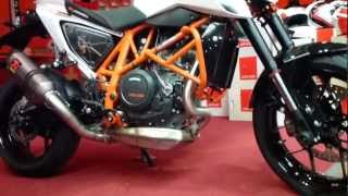 9. 2013 KTM 690 DUKE R ''Akrapovic'' Exhaust 690 cm3 70 Hp * see also Playlist