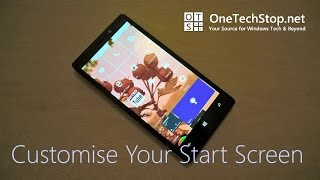 "Our How To video on brightening up your Windows 10 Mobile Start Screen will teach you all you need to know about wallpapers, Live Tiles, Folders and more.Comments and questions are always welcome, you can visit our website: http://onetechstop.netFind us on Twitter: http://twitter.com/onetechstopMake sure you subscribe to catch our upcoming videos, including more Windows 10 Mobile ""How to's"" and tutorials!"