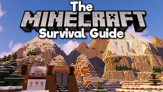Farming Snow For Epic Mountains! • The Minecraft Survival Guide (Tutorial Let's Play) [Part 296]