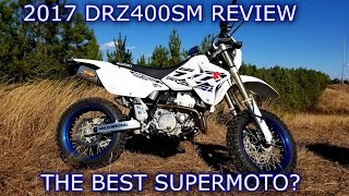 7. 2017 SUZUKI DRZ400SM REVIEW | The Best Supermoto ?