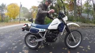 2. Kawasaki KLR 250 Quick Overview
