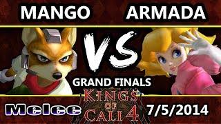 Video Kings of Cali 4 - Armada (Peach) Vs. Mango (Fox) - Grand Finals MP3, 3GP, MP4, WEBM, AVI, FLV Oktober 2017