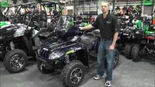 8. 2014 Arctic Cat 700 TRV Limited Navy Blue