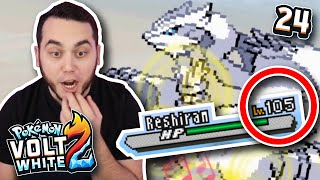 N and RESHIRAM!! Pokemon Volt White 2 Nuzlocke (Ep 24) by aDrive