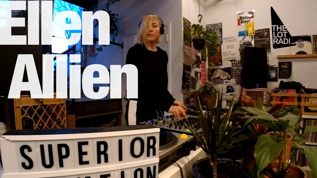 Ellen Allien - Live @ Superior Elevation Records 2017