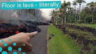 Video Crazy Lava Flows Captured in Hawaii MP3, 3GP, MP4, WEBM, AVI, FLV Februari 2019