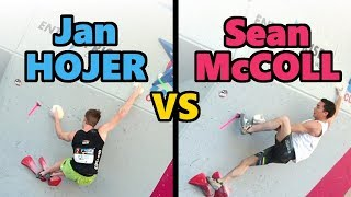 Jan Hojer vs. Sean McColl   Compare & Contrast by OnBouldering