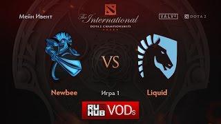 NewBee vs Liquid, game 1