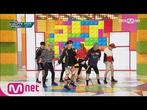Video GOT7(갓세븐) - 'Just right(딱좋아)' M COUNTDOWN 150716 COMEBACK Stage Ep.433 download in MP3, 3GP, MP4, WEBM, AVI, FLV January 2017