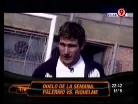 TVR - Duelo de la semana: Palermo vs Riquelme (1ra parte) 17-04-10
