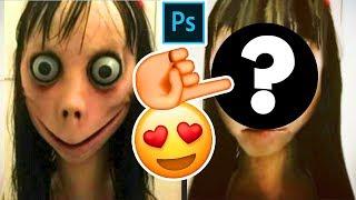 Hice a Momo GUAPA con Photoshop 😱