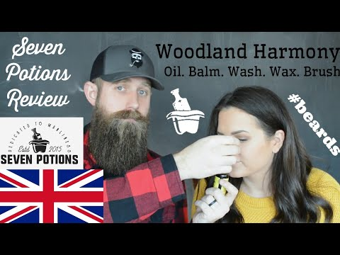 Beard oil - Best beard company outside of the US? Seven Potions Review!