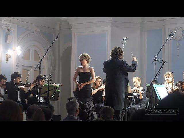 Анастасия Белукова - Vorrei spiegarvi, oh Dio! (Mozart)