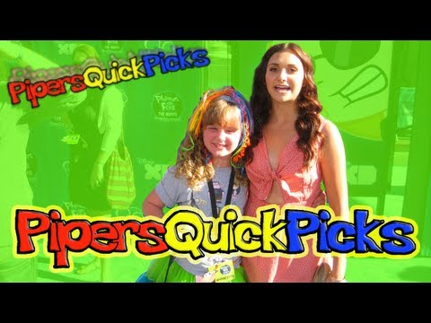 ALYSON STONER Twitter & INTERVIEW at Phineas and Ferb w PIPER REESE! (PQP #063)