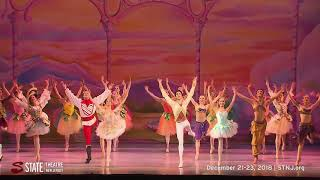American Repertory Ballet's Nutcracker will be at State Theatre New Jersey Dec 21-23, 2018