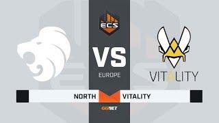 North vs Vitality, map 1 cache, ECS Season 7 Europe