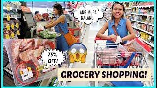 Video GANITO MAG SALE ANG GROCERY SA AUSTRALIA (GRABE DIN!) ❤️ | rhazevlogs MP3, 3GP, MP4, WEBM, AVI, FLV Januari 2019