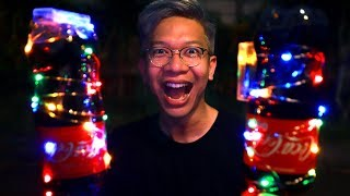 Video ROKET COCA-COLA PAKAI LAMPU DI MALAM HARI!!! MP3, 3GP, MP4, WEBM, AVI, FLV Mei 2019