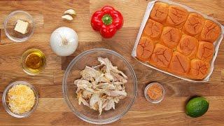 Chicken Fajita Sliders by Tasty