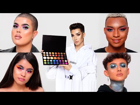 Makeup Artists Try My Palette
