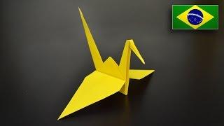 Origami: Tsuru - Instruções em Português BR
