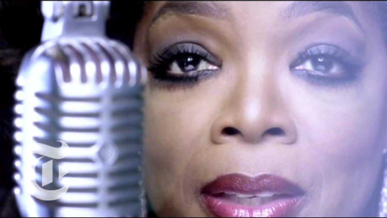 Oprah Makes a Scene
