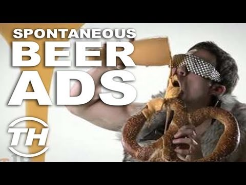 Spontaneous Beer Ads – Jamie Munro Explores Comical Alcohol Ads with These Funny Beer Commercials